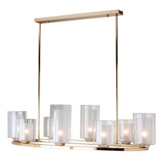 Hanglamp Baele met 8 kandelaren (Goud)