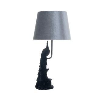 Tafellamp Thabo (Zwart)