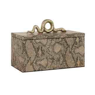 Juwelen box Ruby snake