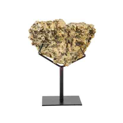 Faux koraal Jazzlyn op standaard (Goud)