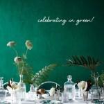 de kleur van het jaar 2013: smaragd groen