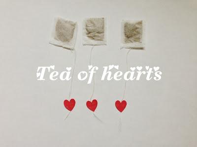 een DIY idee voor hartjes thee via shakeshake
