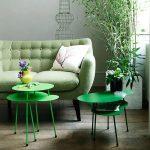 smaragd groen in huis