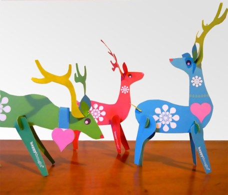 origami deer via etsy shop happy thougt