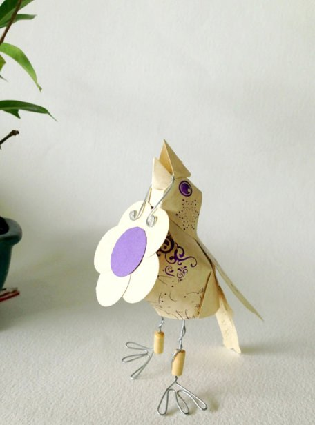 message bird via etsy shop pritee penee