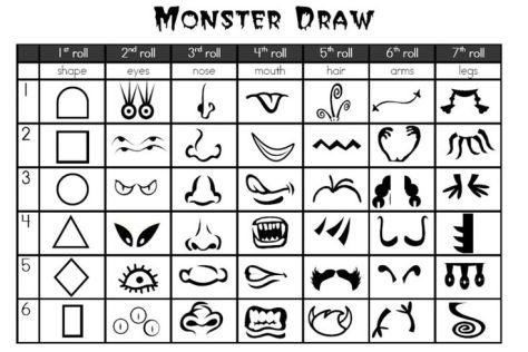 teken een monster via dexpressivemonkey