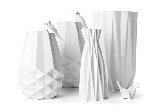 origami vazen van de wereldwinkel