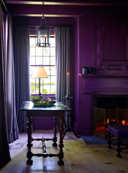 paars interieur