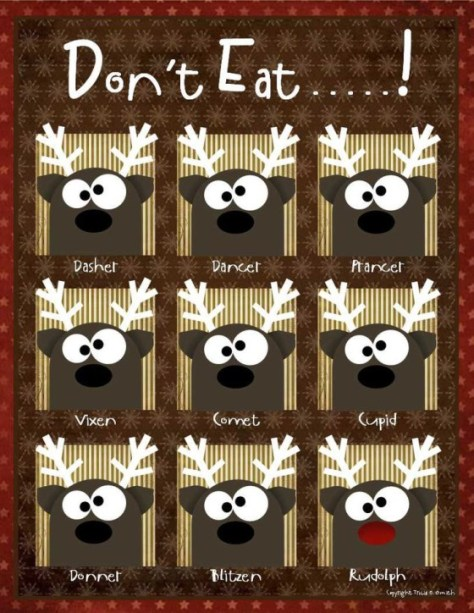 don't eat the reindeer