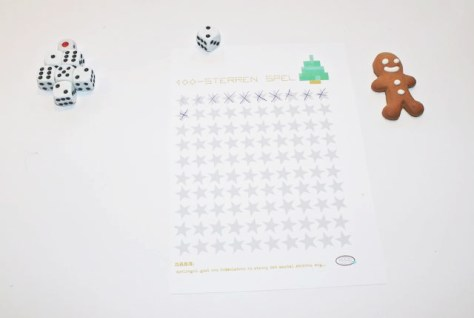 100 kerststerren spel