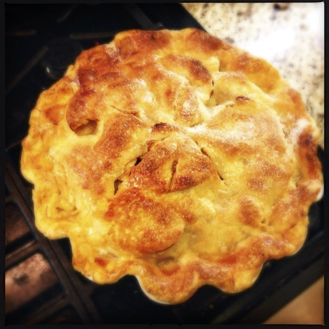 Beautiful apple pie