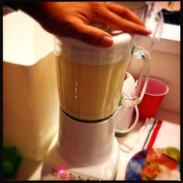Fully blended margaritas
