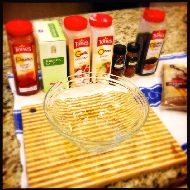 Barbecue Rub Ingredients