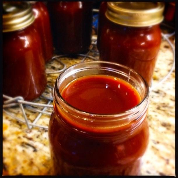 Bottling sauce