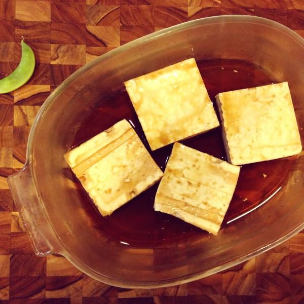 Marinading Tofu