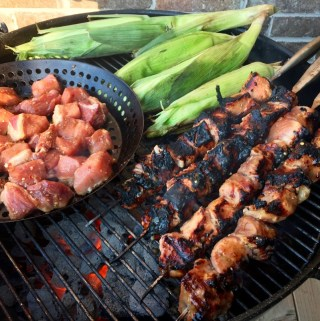 Quick Cook: Grilled Teriyaki Pork Skewers