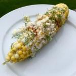Oaxacan Street Style Grilled Corn