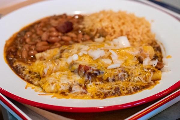 brisket enchiladas