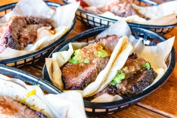 Valentina's Brisket Tacos
