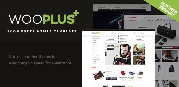 WooPlus - eCommerce HTML5 Template