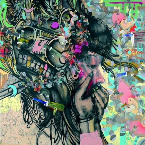 David Choe @ Lazarides Gallery