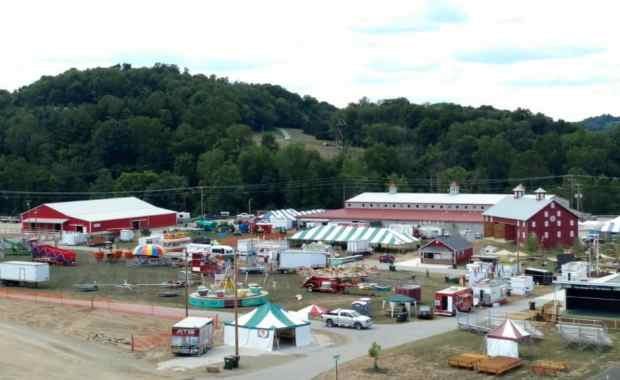 Photo of the Harvest Ridge, Holmes County fairgrounds.