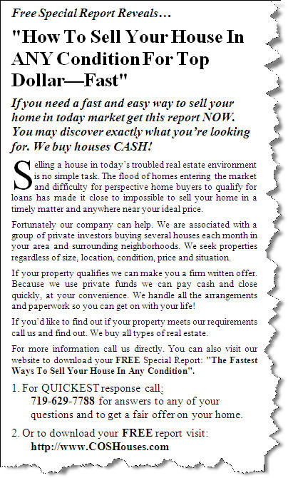 How To Sell Your House In ANY Condition For Top Dollar—Fast