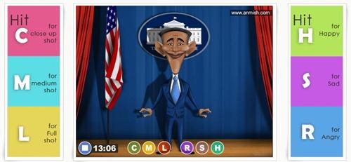 Animación con AnMish de Obama