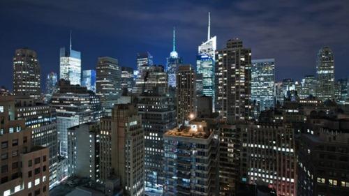 Manhattan en Timelapse