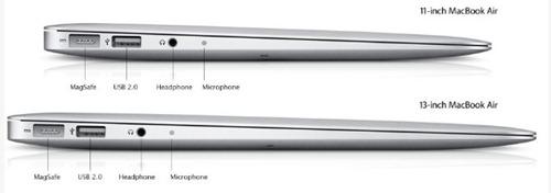 MACBook Air perfil y caracteristicas