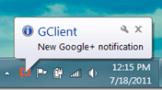 Notificaciones de Google  con GClient