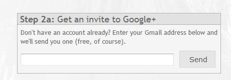 Start Google Plus, extension para Chrome paso 2