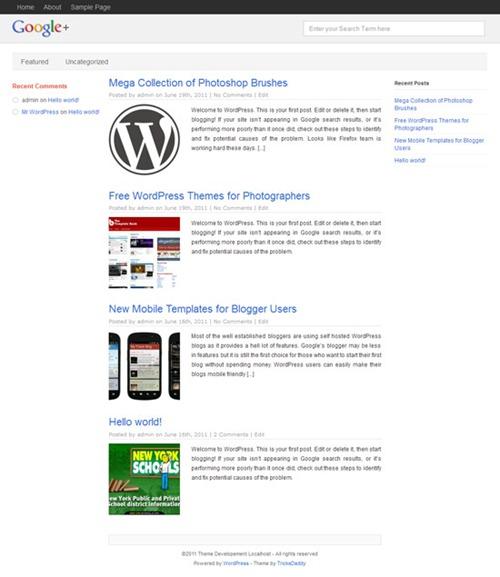 Temas wordpress WP-Plus