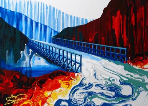 Amy Shackleton, pinturas de arte moderno