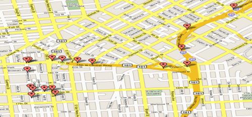Google maps para guiarse en la ciudad