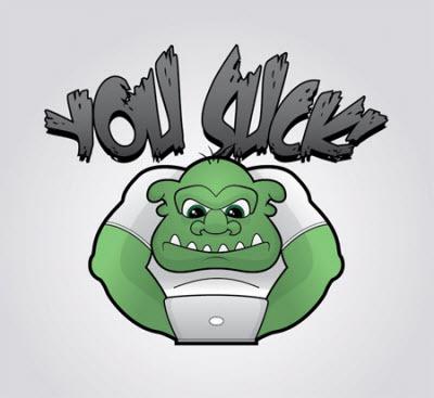 Hacer troll con  Illustartor