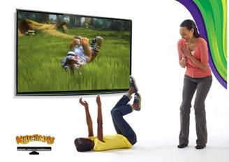 Kinect juegos sin mandos