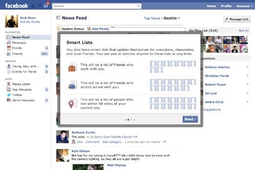 Listas inteligentes en facebook 1