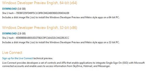 Windows 8 pre beta