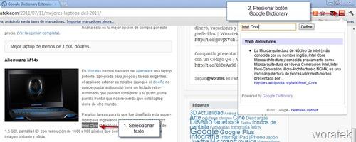 Google diccionario 2
