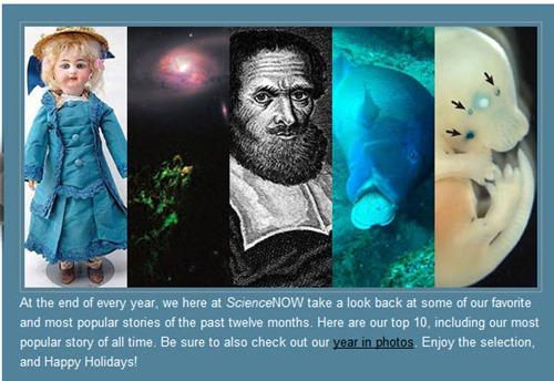 Historias mas populares de ScienceNow