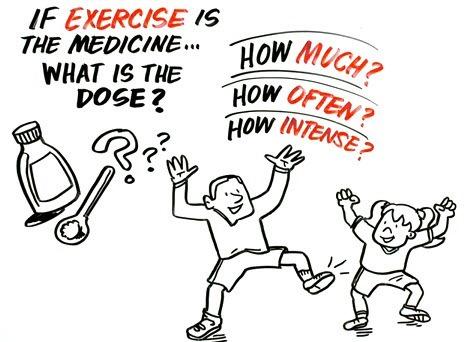 Media hora de ejercicios para la salud