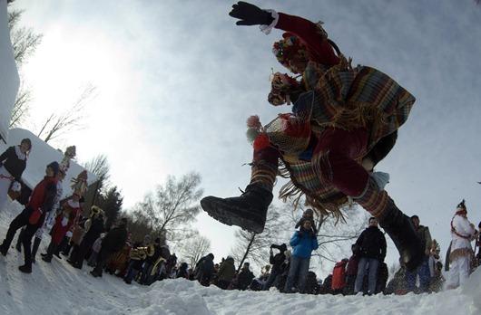 Carnaval 2012-Masopust en República Checa
