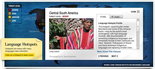 Diccionarios de lenguas National Geographic