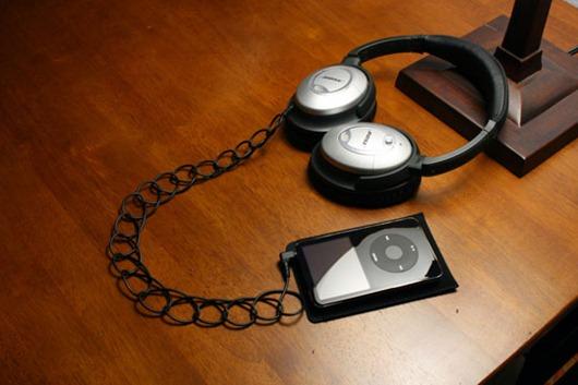 Cables ondulados para ipod