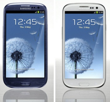 SamsungGalaxy-S-III S3, blackandwhite
