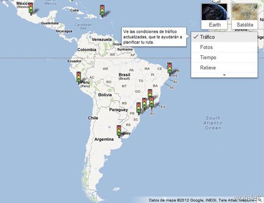 20-06-2012 Google Maps Trafico