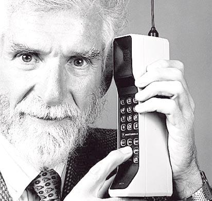 Martin Cooper en la evolución móvil