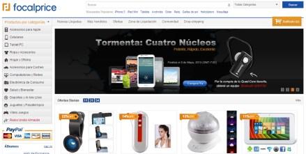 Tiendas de compras online, FocalPrice