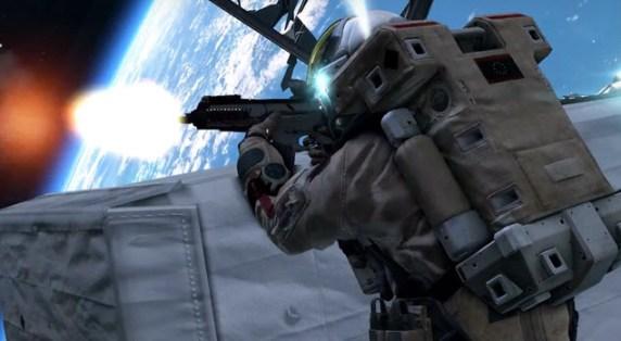 Astronautas disparan en el espacio en Call of  Duty